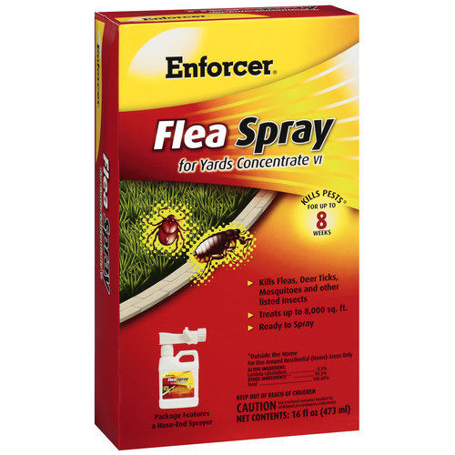 Enforcer Concentrate VI Flea Spray for Yards, 16 fl oz