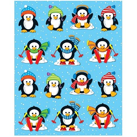 Penguins Shape Stickers - Penguin Stickers