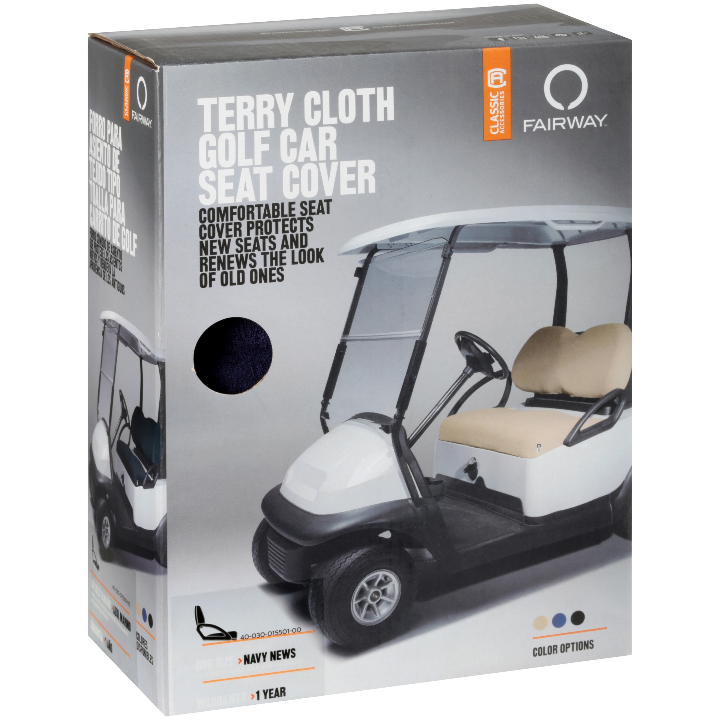 Prime Classic Terry Cloth Golf Cart Seat Saver Black Caraccident5 Cool Chair Designs And Ideas Caraccident5Info