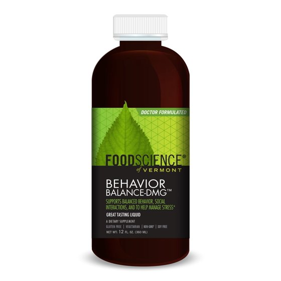 FoodScience of Vermont Behavior Balance DMG Liquid, 12 Fl Oz
