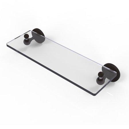 Allied Polished Shelf - Allied Brass Shadwell Glass Bathroom Shelf