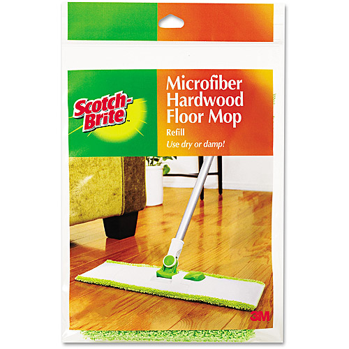 Scotch-Brite Microfiber Mop Refill for Hardwood Floors