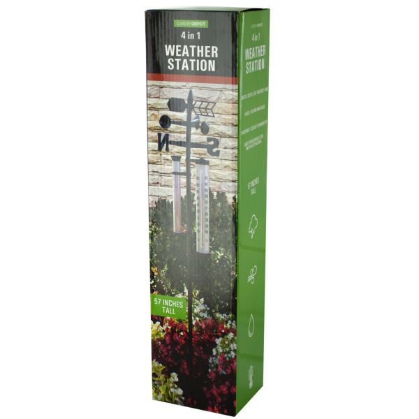 4 In 1 Weather Station (Pack Of 1)