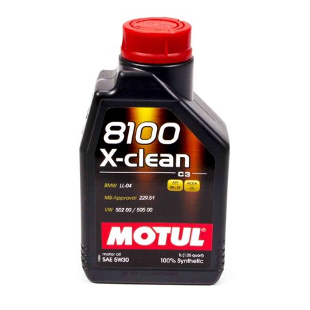 motul usa 8100 x clean 5w30 motor oil 1 l p n 102785. Black Bedroom Furniture Sets. Home Design Ideas
