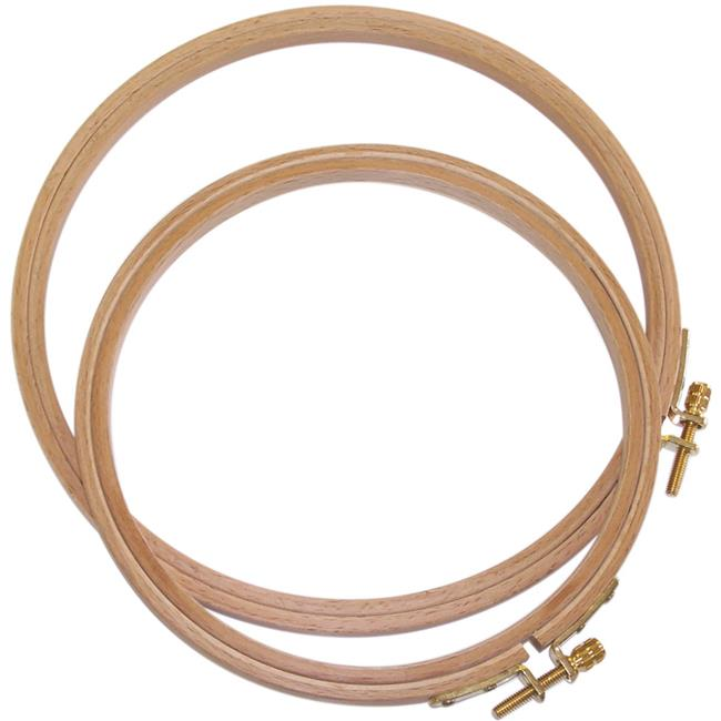 Frank A. German Hand Or Machine Embroidery Hoop, 6 in.