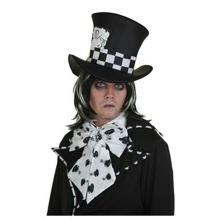 Dark Mad Hatter Wig (Dark Mad Hatter Costume Wig)