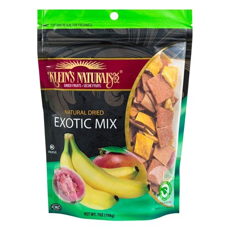 Klein's Naturals Natural Dried Exotic Mix, 7-Ounce Pouch