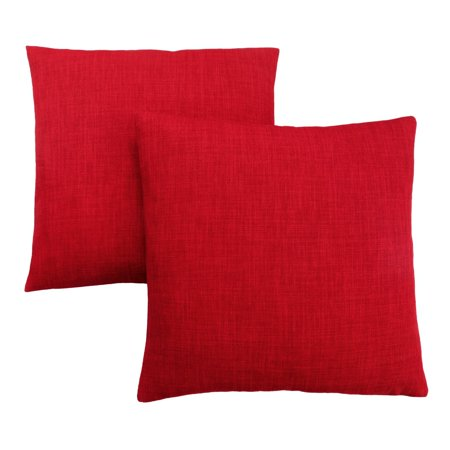 Speciality Patterns - Monarch Specialties Linen Patterned Decorative Pillow - Set of 2