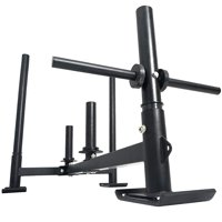 VEVOR 21Inch Fitness Sled Red for Athletic Exercise and Speed Improvement (Black HRRK09A)