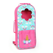 """My Life As Backpack Doll Carrier for 18"""" Doll, Pink and Blue"""