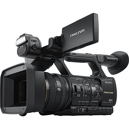 Sony HXR-NX5R NXCAM Professional AVCHD Full HD Wifi Camcorder with Built-In LED Light by Sony