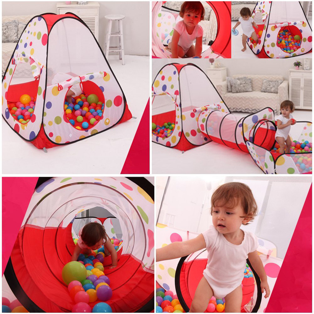 ODOLAND 3-IN-1 Pop-Up Children Play Tent Multipurpose Play Tent w/ Zipper Storage Bag - Walmart.com  sc 1 st  Walmart : pop up tents and tunnels - memphite.com