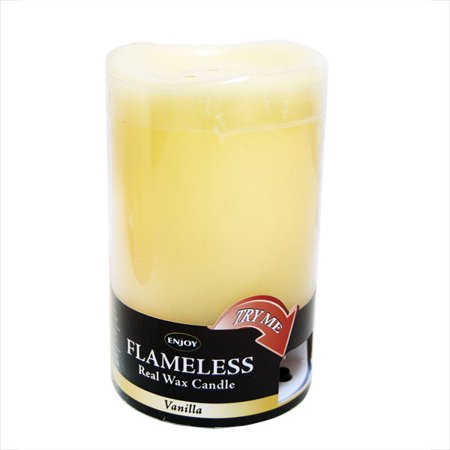 "Westinghouse 3"" x 4"" Smooth 1-LED Scented Wax Candle, Beeswax"