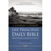 Charles F. Stanley Life Principles Daily Bible-NKJV (Paperback)