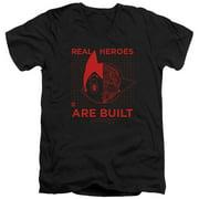 Astro Boy Real Hero Mens V-Neck Shirt