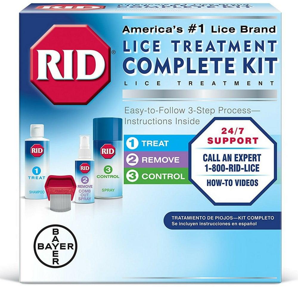 2 Pack - RID Complete Lice Elimination Kit 1 ea