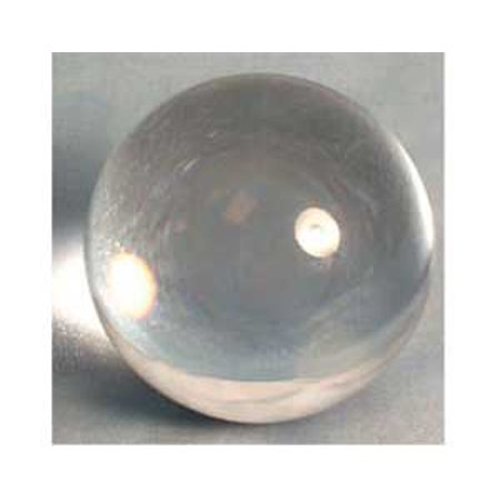 Party Games Accessories Halloween Séance Crystal Balls Divination Tool See The Future 125mm Clear 5