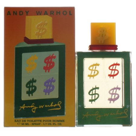 (Pour Homme Collection 2000 Fall 2010 by Andy Warhol for Men EDT Cologne Spray 1.7 oz. New in Box)