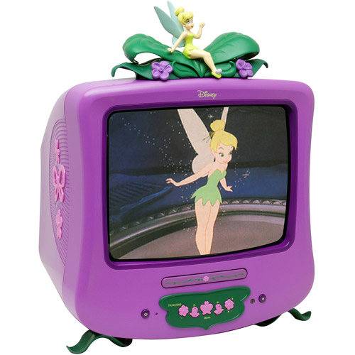 "Disney Fairies 13"" TV with DVD Player"