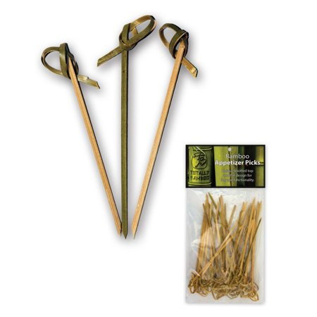 Totally Bamboo Knotted Appetizer / Hors d'oeuvres Picks - 50ct](Hors D'oeuvres For Halloween Party)