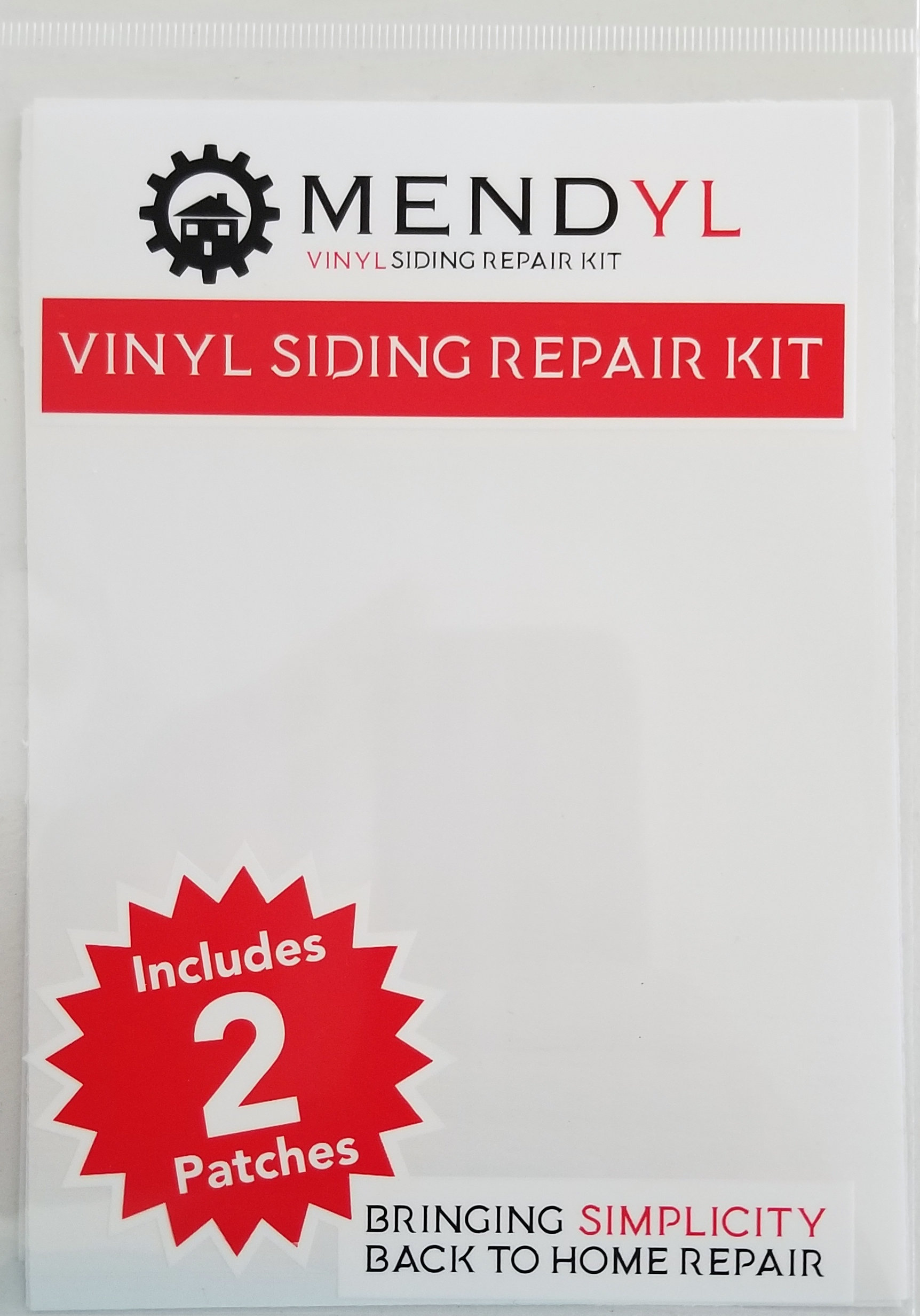or Blemishes on Vinyl S Mendyl Vinyl Siding Repair Kit Cover Any Cracks Holes
