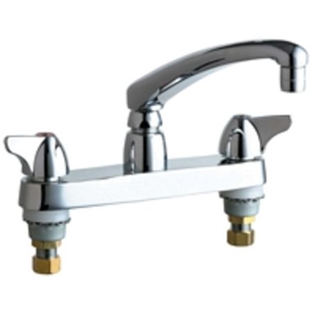 Chicago Faucets 1100 E35ab Commercial Grade Kitchen Faucet