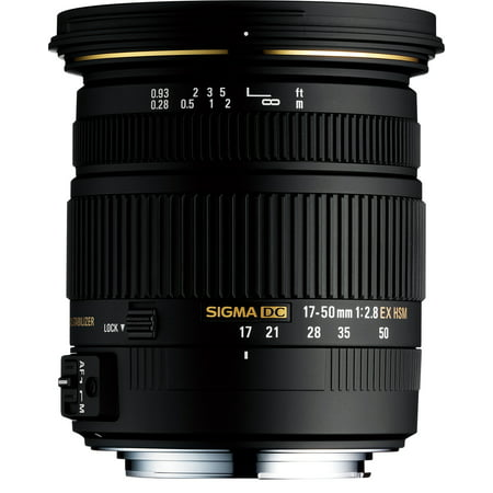 Sigma 17-50mm f/2.8 EX DC OS HSM Zoom Lens for Canon EOS