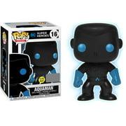 DC Funko POP! Heroes Aquaman Vinyl Figure [Silhouette Glow-in-the-Dark]