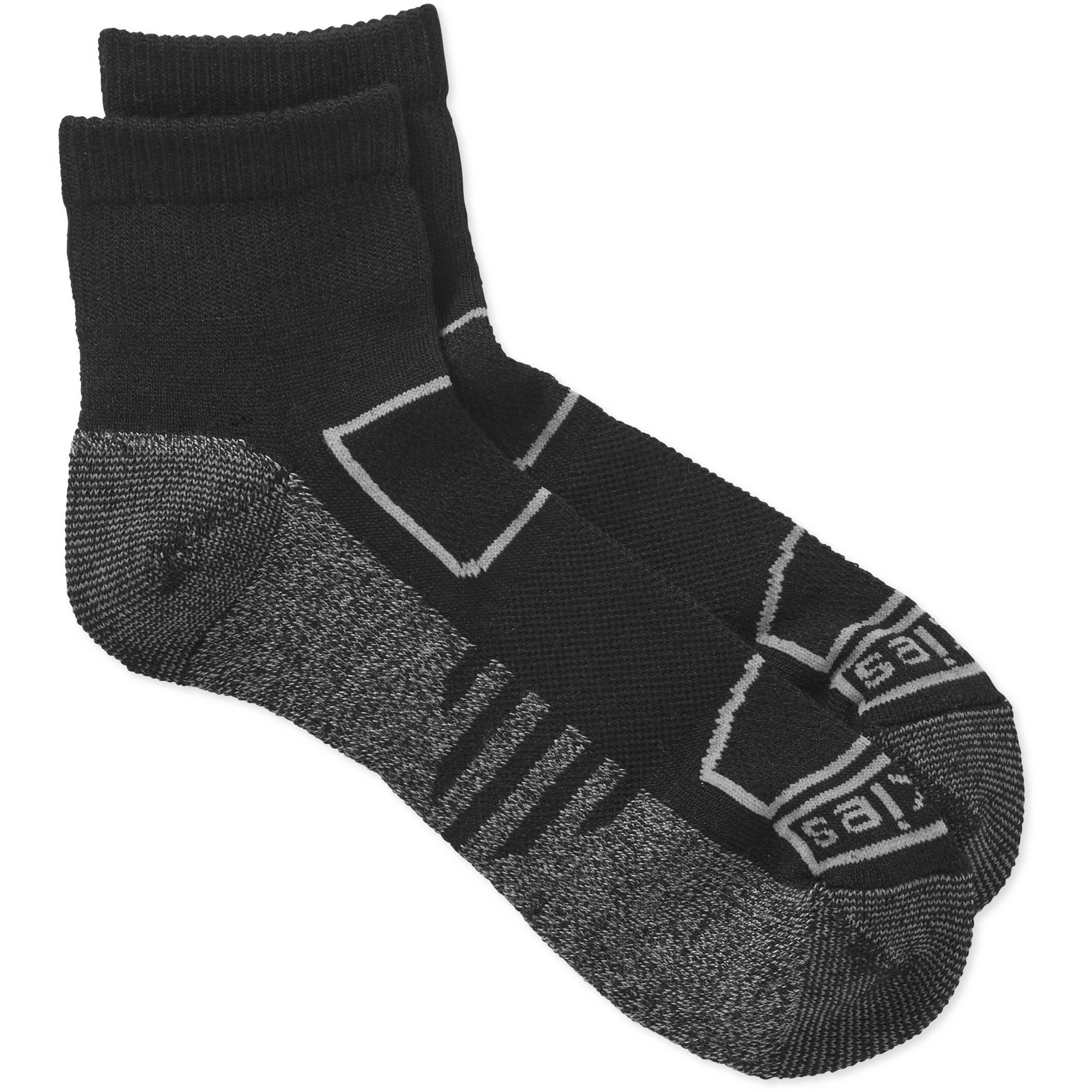Dickies Men's All Season Lightweight Merino Wool Quarter Sock