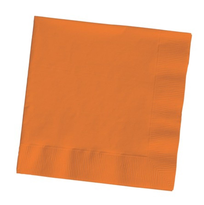 Club Pack of 600 Premium 2 Ply Sunkissed Orange Disposabl...