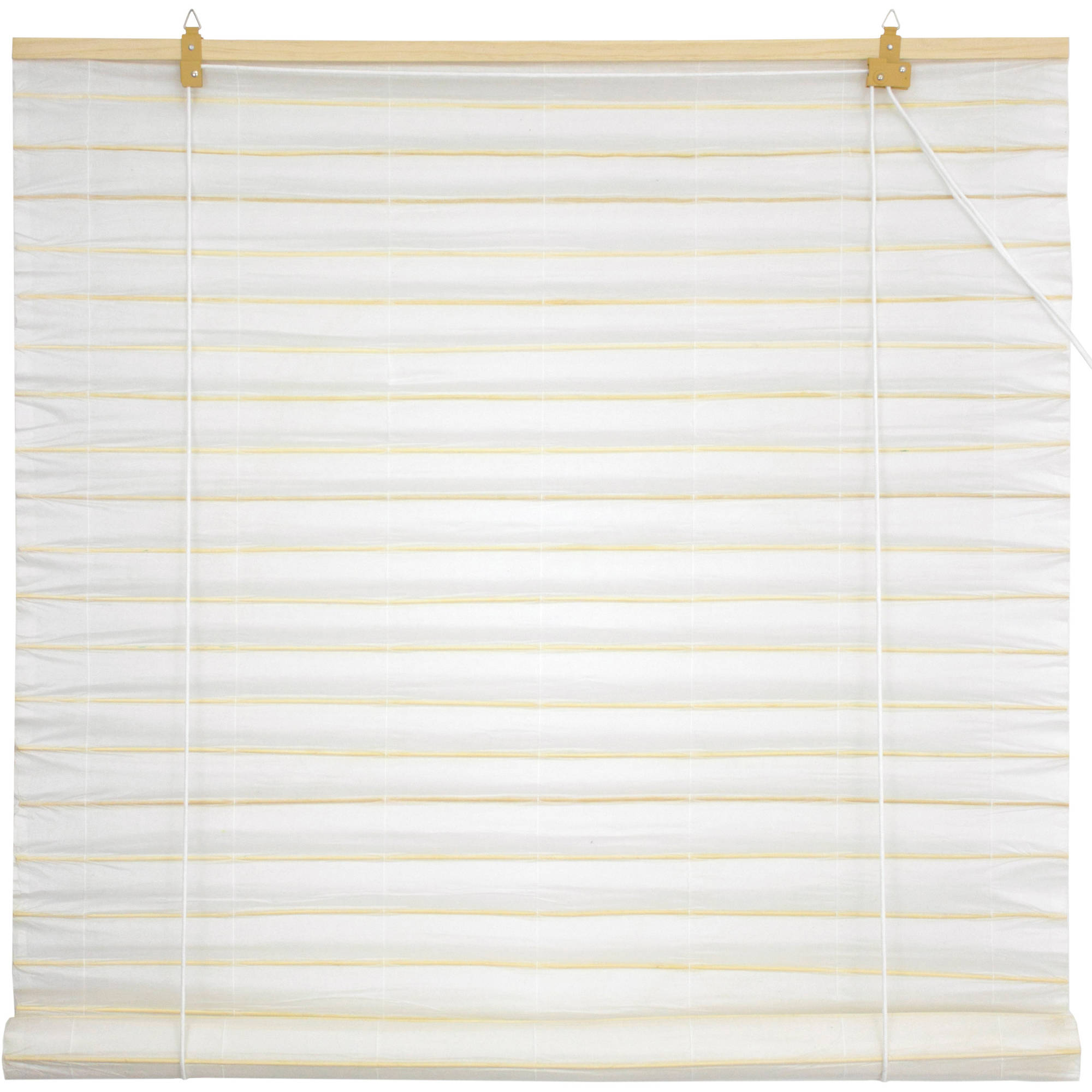 Shoji Paper Roll Up Blinds, White