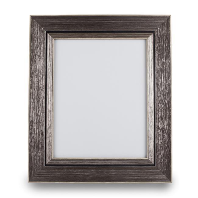 Blue Harbor 33642 8 x 10 in. Texture Frame - Slate