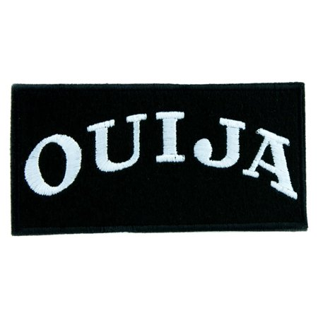 Witchcraft Clothes (Ouija Spirit Board Patch Iron on Applique Occult Clothing Witchcraft)