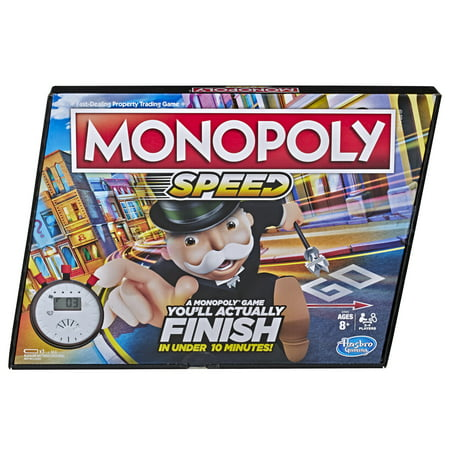 Monopoly Speed Board Game, Play Monopoly in Under 10 Minutes