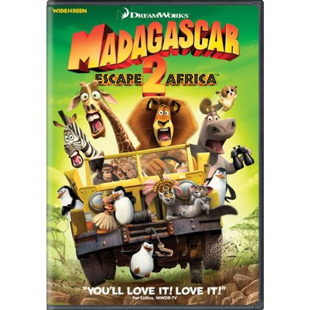 Madagascar: Escape 2 Africa (Widescreen Edition) - Madagascar 3 Characters