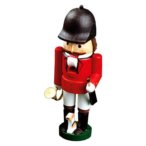 Richard Glaesser Small Red Rider Nutcracker