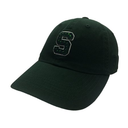1ee58168ef0 Michigan State Spartans TOW Women s Green Radiant Jewel Logo Adj ...
