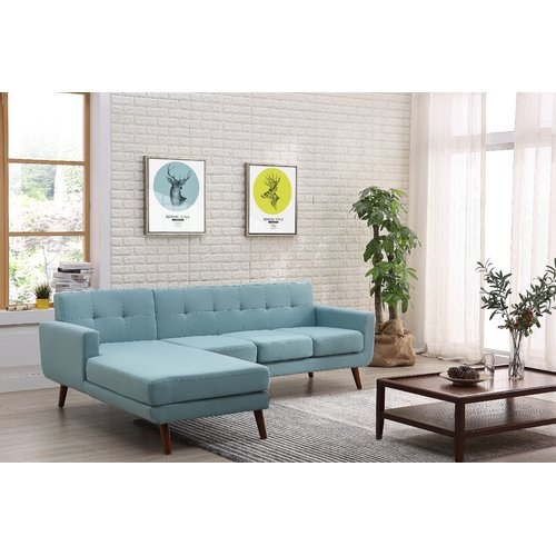 George Oliver Barnet Mid Century Sectional