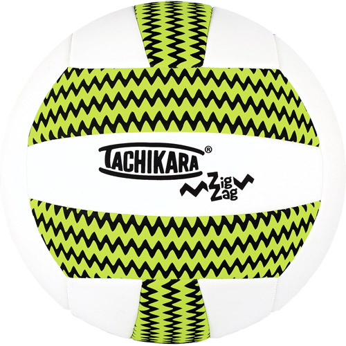 Tachikara SofTec Zig-Zag No Sting Recreational Volleyball