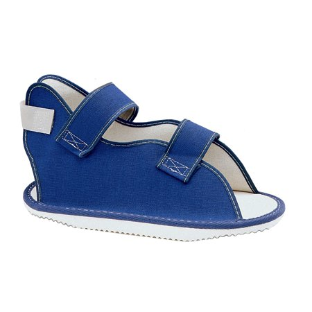 Canvas Rocker Bottom Cast Shoe Blue Xl