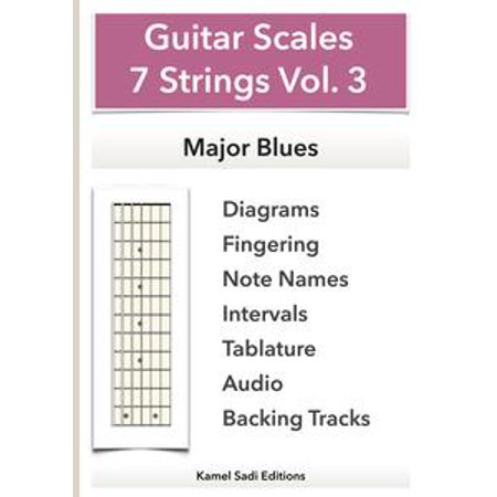 Slide Guitar Scales (Guitar Scales 7 Strings Vol. 3 - eBook )