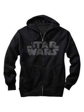 a1f9b0d2b Product Image Star Wars Men's Simple Logo Zip Up Hoodie