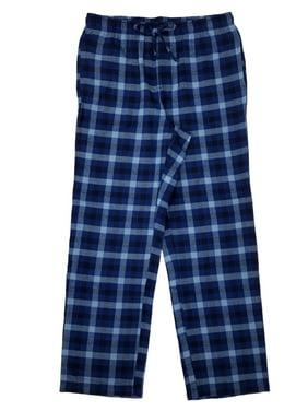 fba33283ad694 Product Image Mens Blue Plaid Brushed Flannel Sleep Lounge Pants Pajama  Bottoms. Product TitleCroft & BarrowMens ...