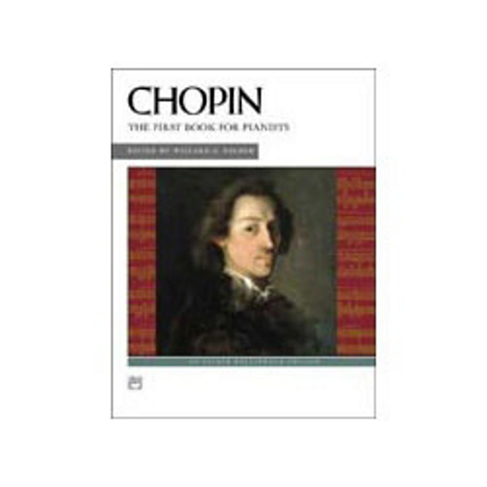 Alfred Chopin First Book for Pianists (Book and CD) by Alfred