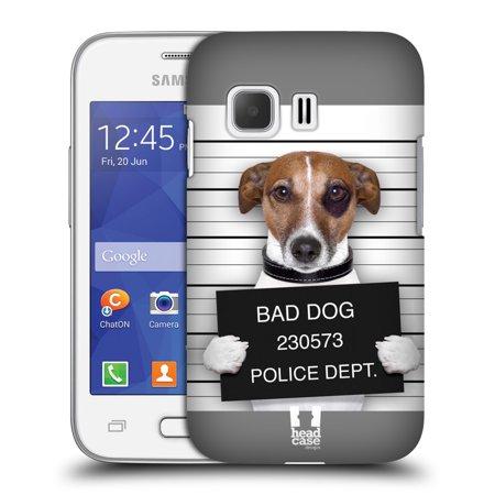 HEAD CASE DESIGNS FUNNY ANIMALS HARD BACK CASE FOR SAMSUNG PHONES 3