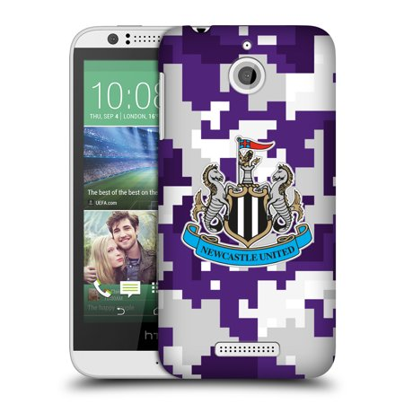 OFFICIAL NEWCASTLE UNITED FC NUFC 2016/17 CREST KIT DIGITAL CAMO HARD BACK CASE FOR HTC PHONES 2