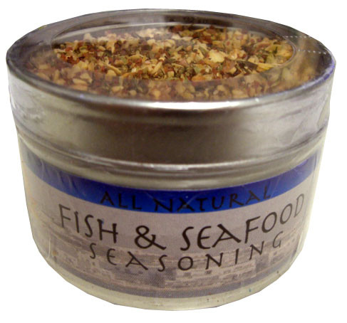 Fish and Seafood Seasoning, 2 oz (57g) can