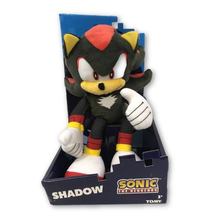 Plush Toy - Sonic the Hedgehog - Modern Shadow - 12 (Sonic And The Black Knight Shadow Toy)