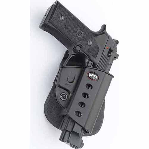 Fobus Evolution Holster for Beretta Vertec, Taurus 92, 99 with Rail by Fobus