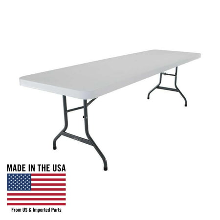 Lifetime 8-Foot Commercial Folding Table White, 22980 (Commercial Folding Tables)